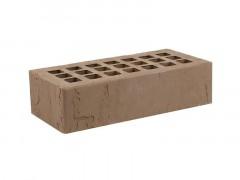 """Кирпич лицевой пустотелый Темно-коричневый Доломит(250х120х65)""""ЖКЗ"""""""