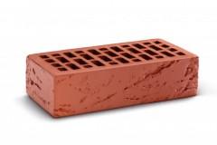 """Кирпич лицевой пустотелый Кора дерева Красный (250х120х65) """"КС-Керамик"""""""